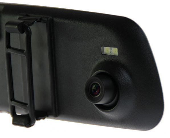 Visszapillantó tükörbe épített Full HD autós fedélzeti kamera